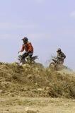 Campeonato del motocrós de Nan, Tailandia Imagen de archivo libre de regalías