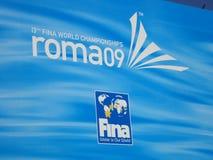 Campeonato del mundo de FINA Foto de archivo