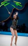 Campeonato del mundo de la gimnasia rítmica Imagen de archivo libre de regalías