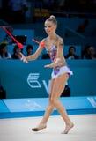 Campeonato del mundo de la gimnasia rítmica Fotos de archivo libres de regalías