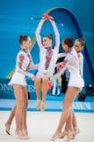 Campeonato del mundo de la gimnasia rítmica Imágenes de archivo libres de regalías