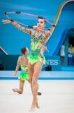 Campeonato del mundo de la gimnasia rítmica Imagen de archivo