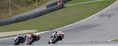 Campeonato del mundo de MotoGP en Brno 2011 Foto de archivo libre de regalías