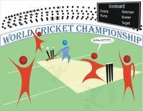 Campeonato del mundo del grillo libre illustration