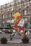Campeonato 2014 del mundo del hockey sobre hielo Imagen de archivo