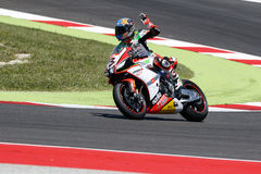 Campeonato del mundo del Superbike de la FIM - raza 2 Foto de archivo libre de regalías