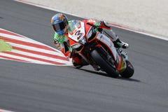 Campeonato del mundo del Superbike de la FIM - 3a sesión de la práctica libre Fotos de archivo libres de regalías