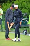 Campeonato 2016 del PGA de las mujeres de Michelle Wie KPMG del golfista profesional de las señoras Imagenes de archivo