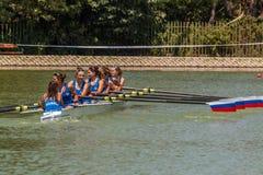 Campeonato del rowing del mundo bajo 23 años Fotografía de archivo libre de regalías