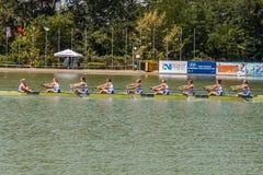 Campeonato del rowing del mundo bajo 23 años Fotos de archivo
