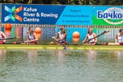 Campeonato del rowing del mundo bajo 23 años Fotos de archivo libres de regalías