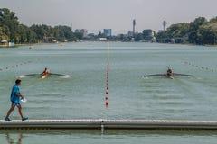 Campeonato del rowing del mundo bajo 23 años Imagenes de archivo