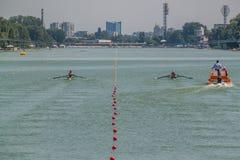 Campeonato del rowing del mundo bajo 23 años Imágenes de archivo libres de regalías