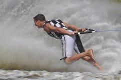 Campeonato descalzo del mundo del esquí de agua Foto de archivo libre de regalías