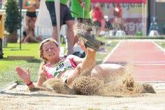 Campeonato 2015 do atletismo Fotografia de Stock Royalty Free