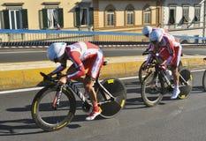Campeonato do ciclismo do mundo em Florença, Itália Foto de Stock Royalty Free