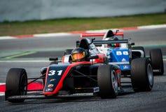 Campeonato do espanhol F4 Imagens de Stock Royalty Free