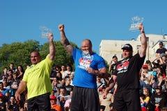 Campeonato do homem forte Fotografia de Stock Royalty Free