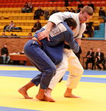 Campeonato do judo Fotografia de Stock
