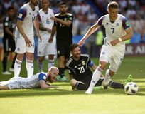 Campeonato do mundo 2018 foto de stock