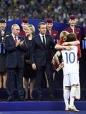 Campeonato do mundo 2018 imagens de stock royalty free