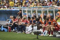 Campeonato do mundo 2014 Imagens de Stock Royalty Free