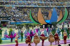 CAMPEONATO DO MUNDO BRASIL 2014 DE FIFA Fotografia de Stock Royalty Free