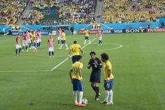 CAMPEONATO DO MUNDO BRASIL 2014 DE FIFA Foto de Stock Royalty Free