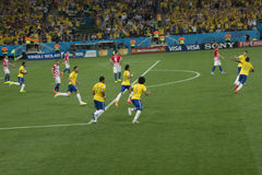 CAMPEONATO DO MUNDO BRASIL 2014 DE FIFA Imagens de Stock Royalty Free