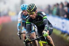 Campeonato do mundo Cyclocross - Hoogerheide de UCI, Países Baixos Fotografia de Stock Royalty Free