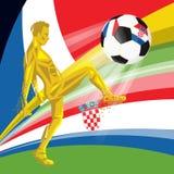 Campeonato do mundo 2018 de FIFA do final Imagens de Stock