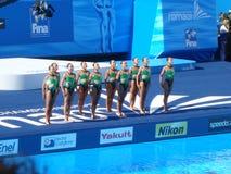 Campeonato do mundo de FINA Foto de Stock