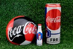 Campeonato do mundo 2018 do campeonato de França fotografia de stock