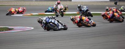 Campeonato do mundo de MotoGP em Brno 2011 Imagem de Stock Royalty Free