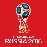 Campeonato do mundo 2018 de Rússia Imagens de Stock