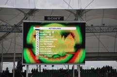Campeonato do mundo 2014 do Fifa Foto de Stock