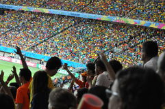 Campeonato do mundo 2014 do Fifa Foto de Stock Royalty Free