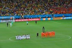Campeonato do mundo 2014 do Fifa Foto de Stock Royalty Free