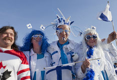 Campeonato do mundo do hóquei do gelo 2012 Fotos de Stock Royalty Free