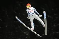 Campeonato do mundo do salto de esqui de FIS em Zakopane 2016 imagens de stock