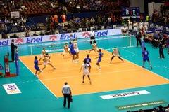 Campeonato do mundo do voleibol de FIVB Menâs Foto de Stock Royalty Free