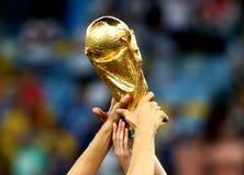 Campeonato do mundo do futebol Foto de Stock Royalty Free