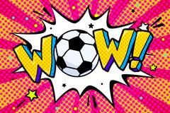 Campeonato do mundo 2018 do futebol ilustração royalty free