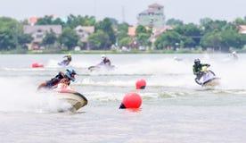 Campeonato do nordeste 2015 de Jetski Tailândia Imagem de Stock Royalty Free