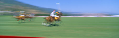 Campeonato do polo do mundo Fotos de Stock Royalty Free