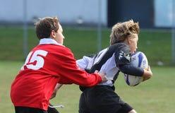 campeonato do rugby da juventude Fotos de Stock Royalty Free
