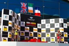 Campeonato do Superbike do mundo Fotografia de Stock