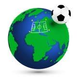 Campeonato europeo del fútbol Foto de archivo