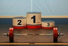 Campeonato europeo del levantamiento de pesas, Bucarest, Rumania, 2009 Fotografía de archivo