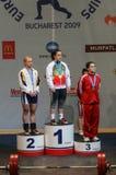 Campeonato europeo del levantamiento de pesas, Bucarest, Rumania, 2009 Fotos de archivo libres de regalías